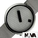ナバデザイン腕時計 NAVA DESIGN時計 NAVA DESIGN 腕時計 ナヴァデザイン 時計 ジャガード JACQUARD メンズ 男性 向け 夫 彼氏 ホワイト NVA020042 [ 正規品 人気 ブランド 北欧 デザイン シンプル ステンレス メタル ベルト プレゼント ギフト 送料無料]