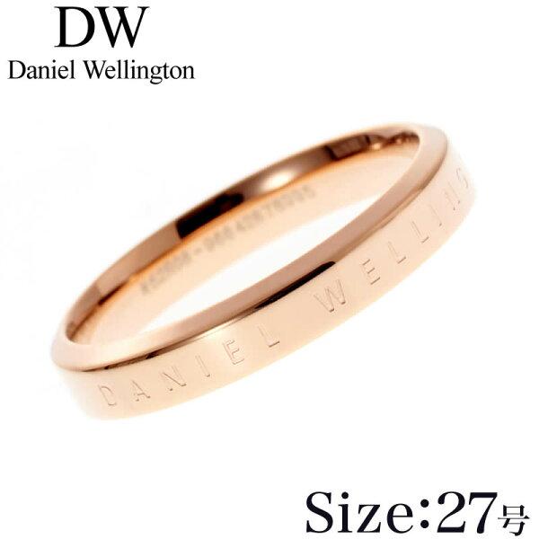 27号 DanielWellingtonリングダニエルウェリントン指輪クラシックClassicレディースDW00400025