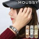 [5年保証]腕時計 レディース バングル ブランド 30代 MOUSSY ブレスレット マウジー 時計 ORIENT オリエント 女性 防水 スタッズ [ 正..