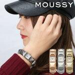 マウジー腕時計MOUSSY時計MOUSSY腕時計マウジー時計スタッズSTUDSレディースホワイトWM0071B4[メタルベルト正規品おしゃれアナログシルバークリスタルストーン][送料無料][クリスマスプレゼントギフト][あす楽]