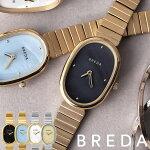 [細ベルト人気レディース腕時計](アンティーク調華奢)ブレダ腕時計BREDA時計BREDAジェーンJANE女性ベージュホワイトライトブルーブラック[おしゃれブランド正規品シェルパールシンプルブレスレットゴールドシルバーギフトプレゼント]