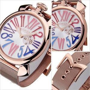 ガガミラノ腕時計[GaGaMILANO時計](GaGaMILANO腕時計ガガミラノ時計)スリム46MMプラカットオロ(SLIM46MMPLACCATOORO)/メンズ時計GG-5081.1