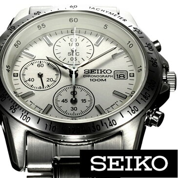 [当日出荷] [あす楽 人気商品 ] セイコー腕時計[ SEIKO時計 ](SEIKO 腕時計 セイコー 時計)クロノグラフ メンズ SND363PC [ 正規品 ビジネス リクルート スーツ クロノグラフ 日付 カレンダー ステンレス カジュアル おしゃれ ] 誕生日