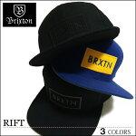 BRIXTONブリクストンキャップスナップバックSNAPBACK帽子RIFTリフトブラックブルーCAPメンズレディーススケートスケーター入学新生活