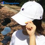 送料無料チャンピオンキャップChampionローキャップLOWツイルデニムローキャップ浅カーブcapロゴCAPブラックネイビーライトブルー帽子メンズレディースストリート