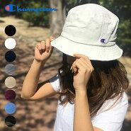 チャンピオンバケットハットChampion帽子ゆうパケット送料無料デニムバケハバケットメンズレディースキャップロゴCAPブラックホワイトグレーストリートカモフラージュ迷彩
