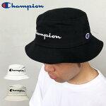 【ゆうパケット送料無料】チャンピオンバケットハットChampionデニムバケハバケットキャップロゴCAPブラックホワイトベージュ帽子メンズレディースストリート