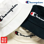 【ゆうパケット送料無料】チャンピオンバケットハットChampion別注バケハバケットキャップロゴCAPブラックホワイトベージュ帽子メンズレディースストリート