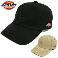 ディッキーズDickiesキャップ帽子メンズレディースブランドゆうパケット送料無料ウォッシュドローキャップWDLOGOWASHEDLOWCAPブラックベージュワンポイントロゴユニセックス14570700