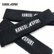 カンゴールスポーツヘアバンドヘッドバンドKANGOLSPORTゆうパケット送料無料ブラックキャップ