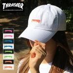 スラッシャーTHRASHERキャップcap送料無料マグロゴMAGLOGO帽子スナップバックブラックホワイトピンクブルーグリーンオレンジネオンカラーベースボールキャップメンズレディース