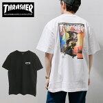 【ゆうパケット送料無料】THRASHERスラッシャーTシャツJAN98S/STEE2020年新作グラフィックスカルプリントメンズレディースブラックホワイトトップスT-SHIRTSスケートストリート