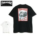 【ゆうパケット送料無料】THRASHERスラッシャーTシャツ2020年新作JAN82S/STEE半袖バックプリントメンズレディースブラックホワイトトップスT-SHIRTSスケートストリートマガジン