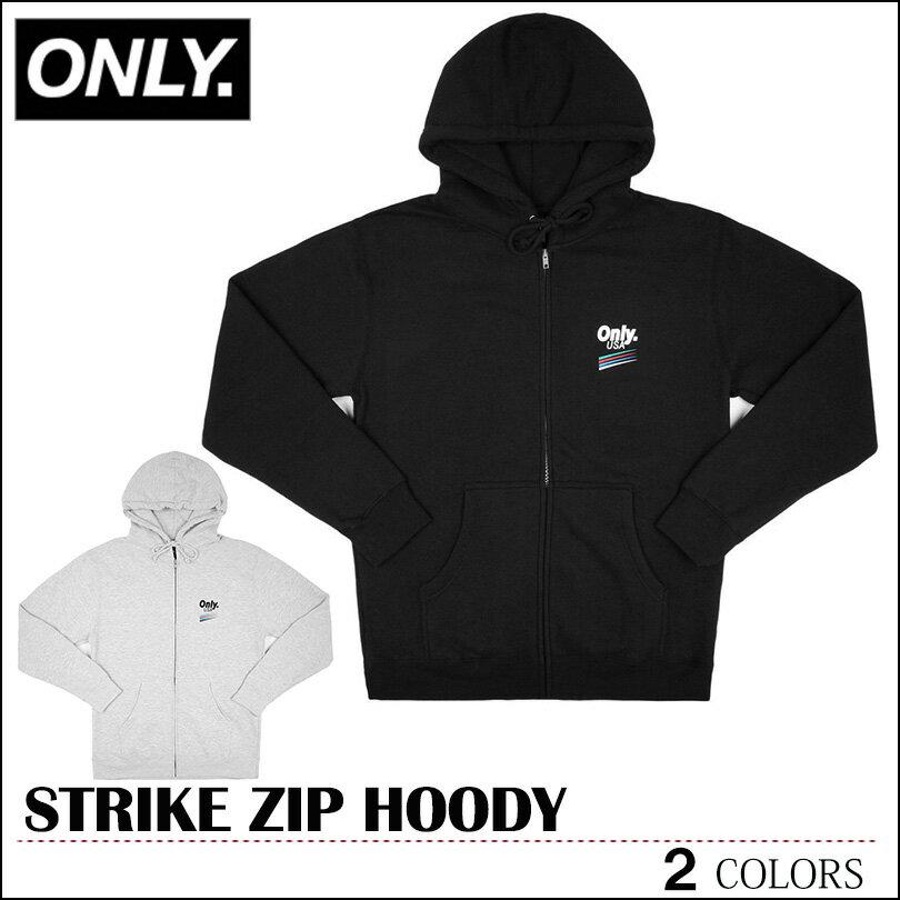 トップス, Tシャツ・カットソー  ONLY NY ONLY NEW YORK STRIKE ZIP HOODY SUPREME