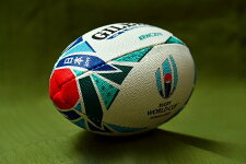 【RWC2019】ラグビーワールドカップ2019ギルバートレプリカミニボールラグビーボール1号GB9015