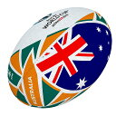 【RWC2019】 ラグビー ワールドカップ 2019 ギルバート オーストラリア フラッグボール ラグビーボール 5号球