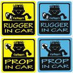 【CapRugger's】キャップ・ラガーズカーステッカー