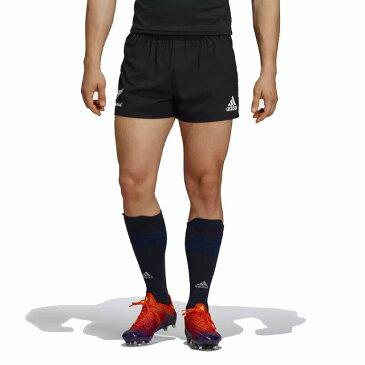 【adidas】 アディダス ALL BLACKS オールブラックス 1st サポーターショーツ 2018/19 ラグビーパンツ EKX86