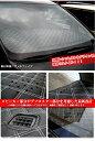 【LUXURY STYLE ラグジュアリースタイル】 ノア ヴォクシー 80系 ブラックレザー×ホワイトキルト ダッシュマット FJ4337 3