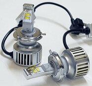 LEDヘッドライトH4Hi/Low6500k4500lm12V24V対応
