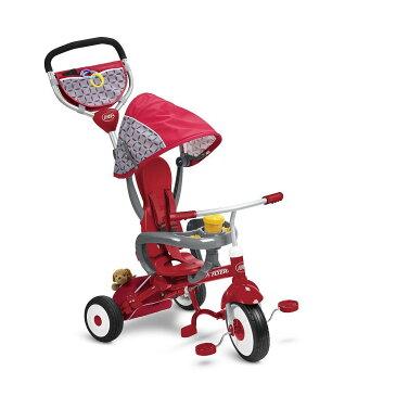 【送料無料】【RADIO FLYER ラジオフライヤー】手押し三輪車 #445A EZ Fold Stroll'n Trike ★RadioFlyer★ベビーカー