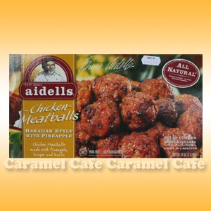 【aidells アイデル】チキンミートボール ハワイアンミートボール681gHawaiian Style Chicken Meatball with Pineapple
