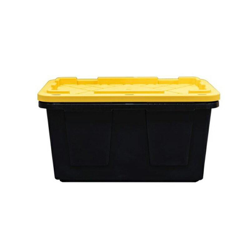 【costco コストコ】【HEAVY DUTY TOTE】#26339屋内用 屋外用 コンテナ ケース 蓋付き 収納ボックス102L 27ガロン