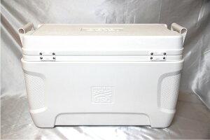 ★送料無料★【IGLOOMARINEイグルー/イグロー】クーラーボックス54QT(51L)ホワイトマリン