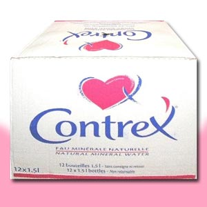 ★ Contrex ★ コントレックスダイエットウォーター 1.5 L x 12-bottle water