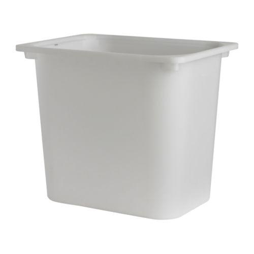 【IKEAイケア】トロファスト 子供用家具TROFAST収納ボックス, ホワイト【Lサイズ】(00136206)高さ36cmBOX-L-W