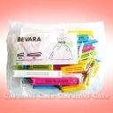 ホワイトデーセール★【IKEAイケア】BEVARA・2サイズ袋止めクリップ30個セットピンク・白・青・...