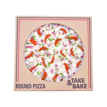 【コストコCostco】新商品丸型ピザ パンチェッタ&モッツァレラSQUARE PIZZA