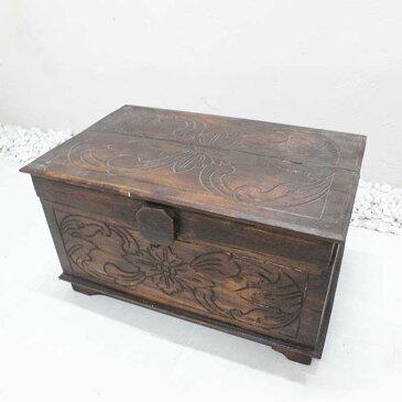 木の収納ボックス 木箱 おもちゃ箱 道具箱