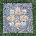 踏み石 飛び石 ステップ ガーデン ストーン 庭石 コンクリート 四角40cm