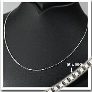 プラチナ ベネチアン チェーン ネックレス(50cm 幅1.2mm)(nbpt5012):ジュエリー専門店Carat