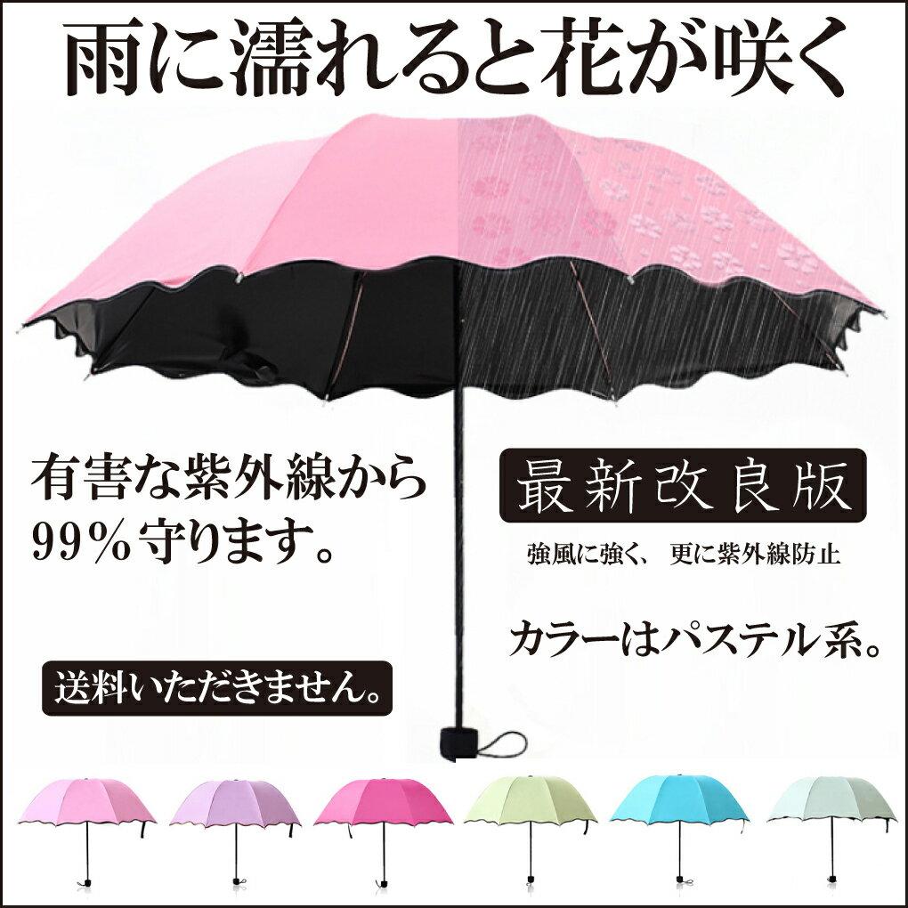 絵柄が浮き出る傘