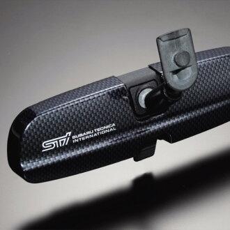 STI room mirror shield (compact car use) Legacy :BE/BH インプレッサ: GD/GG, GR/GV Forrester: SH エクシーガ: YA STSG05100230