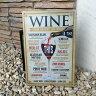 【在庫処分】 ブリキ 看板 クラシック Classic ワイン WINE サインボード お洒落 おしゃれ JPN ジェーピーエヌ JQ-KZLBH8379