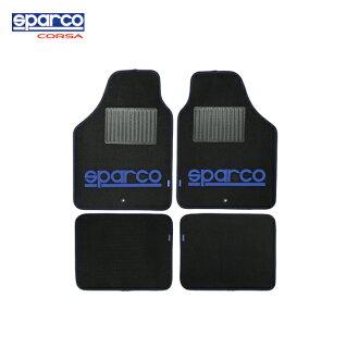 スパルコ, sparco/SPC, floor mat blue 4PC SPC1901