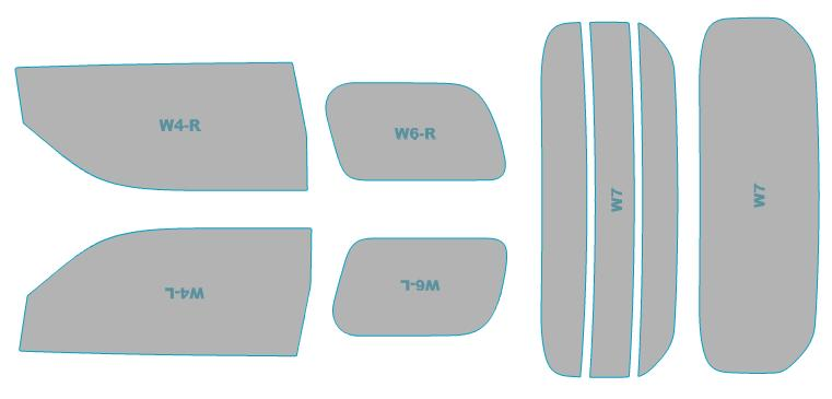 日除け用品, カーフィルム  UV 99 GGH30WGGH35W H27.1-H29.12