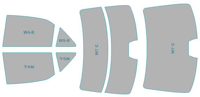 日除け用品, カーフィルム  AWS210 H24.12-H27.9