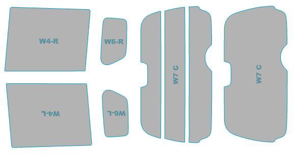 日除け用品, カーフィルム  UV 99 N-BOX Custom nbox Custom JF1JF2 H27.2-H29.8