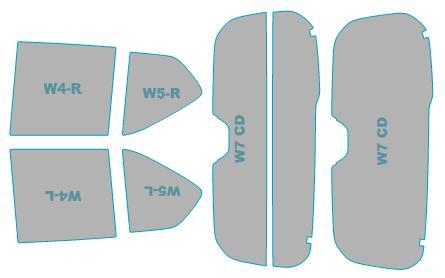 日除け用品, カーフィルム  UV 99 HB36S H27.1-