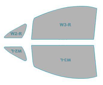 スパッタゴールド運転席助手席カーフィルムカット済みトヨタアルファード【GGH2#W/ANH2#W型】年式H23.11-H26.12車用品バイク用品車用品アクセサリー日除け用品カーフィルム