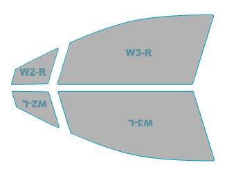 日除け用品, カーフィルム  Levorg VMG H26.6-H29.7