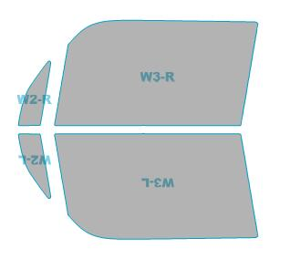 日除け用品, カーフィルム 64 L575SL585S H23.6-H29.3
