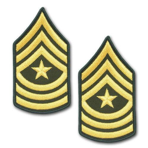 Army Rank Sergeant Major (sgm) Velcro (ocp), 2 Qty Per Pkg ...