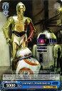 """ヴァイスシュヴァルツ STAR WARS """"STAE WARS"""" C-3PO  BB-8  R2-D2 ( PR ) SW/S49-125   ヴァイス シュヴァルツ カードスターウォーズ 青 キャラクター"""