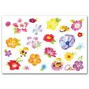 ポストカードと和雑貨の和道楽で買える「朝岡千恵三・水彩イラストポストカード「春爛漫」」の画像です。価格は162円になります。
