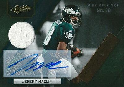 トレーディングカード・テレカ, トレーディングカード  NFL Jeremy Maclin 2011 Absolute Memorabilia Absolute Heroes Jersey Autographs 0810